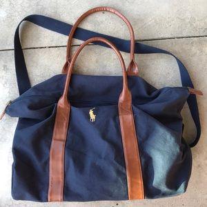 Polo Ralph Lauren duffel bag overnight blue